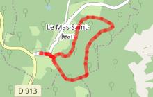 Circuit pédestre Mas Saint Jean SD2
