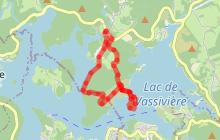 Circuit 08 : La Presqu'île de Chassagnas - 5,7 km, 1h30
