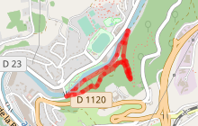 Parcours Tulle Nature : Stade de Trail