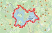 Sentier de rives du Lac de Vassivière