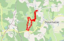 Sentier marche nordique Montbrun
