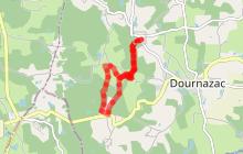 Variante circuit Marche Nordique de Montbrun