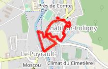 Découvrir Châtillon-Coligny à pied