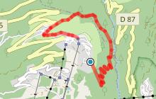 Itinéraire de randonnée : Le Tour de la Mine