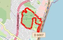 Circuit forestier au Parc de Vaugrenier