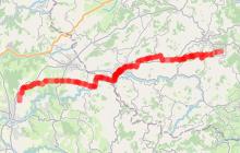Chemin de Saint Jacques de Compostelle - Etape 3 - Saint-Martin-en-Haut / Saint Galmier