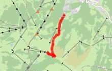 Itinéraire de ski de randonnée - Itinéraire nocturne - Les Communailles / Sommet du Mont Joux