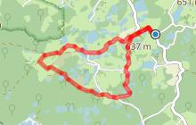 Circuit pédestre La petite Finlande - Vosges du sud