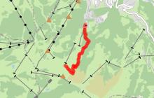 Itinéraire de ski de randonnée - Les Communailles / Télésiège de la Croix