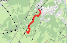 Itinéraire de ski de randonnée - Le Bettex / Sous les Freddys
