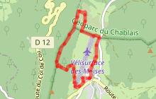 Circuit trail 5 : Plateau des Moises