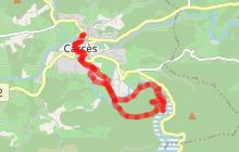 Les chutes du Caramy et le lac Sainte-Suzanne