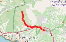 Circuit vélo Fours à Cade-Grand Caunet