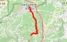 Circuit vélo Fontaine de Fontanieu