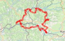 Circuit 3 : Moto Entre les lacs de la Chataigneraie