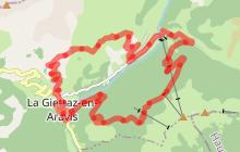 Parcours MB Race - La Giettaz