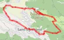 Vers l'alpage d'Agy - Randonnée