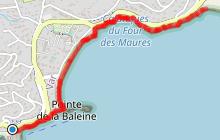 Sentier du littoral Le Lavandou - Saint-Clair - La Fossette