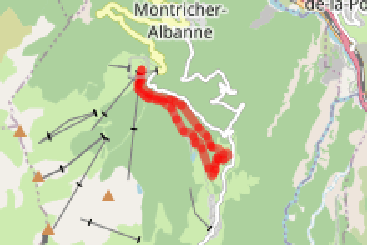 Itinéraire VTT 01 - À travers bois (XC)