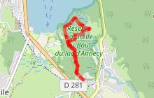 Sentier pédagogique de la Réserve naturelle du Bout du Lac