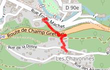 Sentier Les Chavonnes