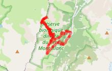 Rando R6 : Le Petit Mont Blanc