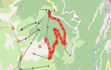 Itinéraire de randonnée 04 - Descente Lac