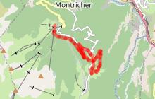 Itinéraire de randonnée 08 - Croix de Pralognan