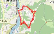 Randonnée pédestre - Trois empreintes pour un même paysage