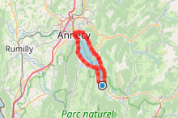 01 - Tour du lac d'Annecy depuis Doussard