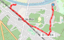 Circuit cyclo touristique de Bois le Roi