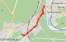 Circuit cyclo touristique de Fontainebleau