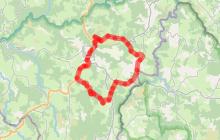 Circuit VTCAE Vers les Gorges du Bès
