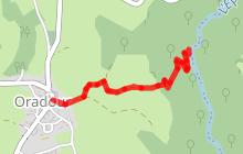 Randonnée la cascade de Maleval