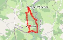 Randonnée Puech Lavergne