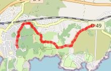 La voie verte du village de La Couronne vers Sainte-Croix