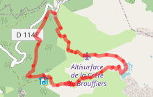 Lac de Brouffier par Comboursière