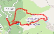 Lac de Brouffier par chemin Bonniot