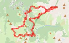 Circuit Trail du Grand Serre au Taillefer