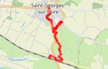 SAINT GEORGES SUR LOIRE : Chemin de Croix Marie