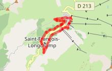 Circuit VTT n°2 Itinéraire de La route des Fermes