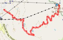 Itinéraire raquettes : le Mont de la Chambre