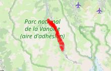Circuit piéton Hiver : Les Menuires-Saint Martin