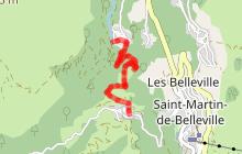 Circuit piéton Hiver : sentier de Villarenger