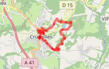 Boucle Cruseilles - Les Dronières