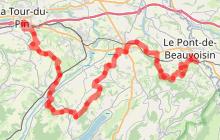 Circuit de randonnée La Trans' Vals du Dauphiné