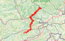 GR®59 Sud-Nord en Haute-Saône
