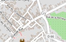 Chemin de Compostelle - Voie de Vézelay en Haute-Saône