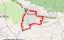 Circuit de découverte familiale dans le bourg de la Murette