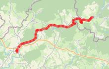 Circuit fluvial de Corre vers Fontenoy-le-Château - Vesoul-Val de Saône